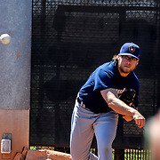AAA Baseball Action the Brewers vs Padres, Peoria Sports Complex, March 23, 2018 Peoria Arizona, Andres Acosta / El Paso Herald-Post