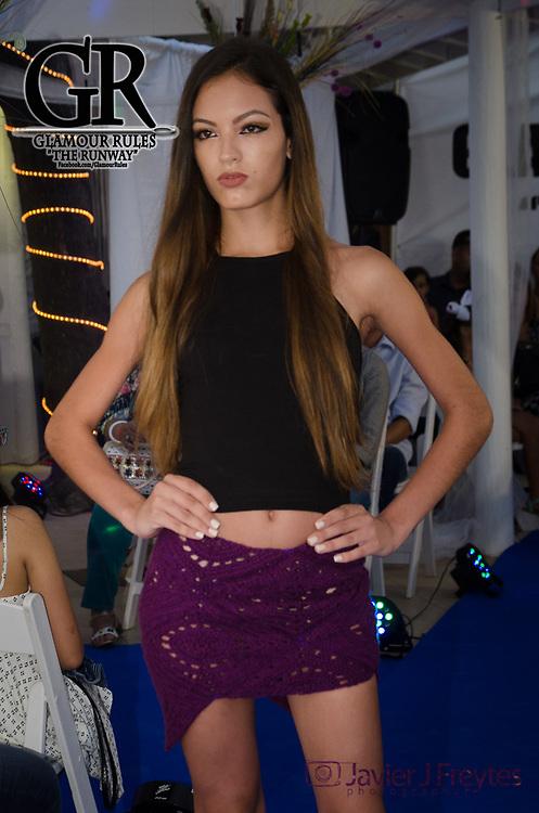 20170730- San Juan, Puerto Rico- Desfile de Moda: Glamour Rules - The Runway en el hotel Hosteria Del Mar en Ocean Park, San Juan, Puerto Rico. En la foto la coleccion de Yarimar Design Collection.