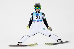 February 8, 2019 - Spela Rogelj of Slovenia on first competition day of the FIS Ski Jumping World Cup Ladies Ljubno on February 8, 2019 in Ljubno, Slovenia. (Credit Image: © Rok Rakun/Pacific Press via ZUMA Wire)