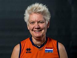 22-09-2017 NED: Portret zitvolleybalsters Oranje 2017-2018, Leersum<br /> Nederland bereidt zich voor op het komende EK zitvolleybal / Djoke van Marum #3