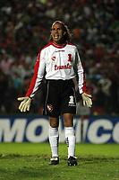 Fotball<br /> Independiente v Newells<br /> Torneo Clausura<br /> Buenos Aires<br /> 21. februar 2004<br /> Foto: Digitalsport<br /> Norway Only<br /> Navarro Montoya, Independiente