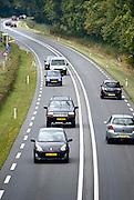Nederland, Ubbergen, 11-9-2013Provinciale weg N325. Deze secundaire wegen blijken onveiliger te zijn als snelwegen.Foto: Flip Franssen/Hollandse Hoogte