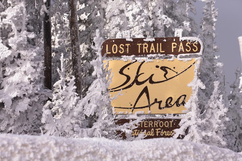 Lost Trail Ski Area, Montana.