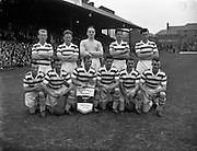 23/9/1959<br /> 9/23/1959<br /> 23 September 1959 <br /> Soccer, football: European Cup, Shamrock Rovers v Nice at Dalymount Park, Dublin. The Shamrock Rovers Team.