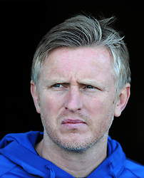 Yeovil Town's Acting Manager Terry Skiverton - Photo mandatory by-line: Harry Trump/JMP - Mobile: 07966 386802 - 07/03/15 - SPORT - Football - Sky Bet League One - Yeovil Town v Oldham Athletic - Huish Park, Yeovil, England.