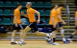 25-04-2013 VOLLEYBAL: TRAINING NEDERLANDS MANNEN VOLLEYBALTEAM: ROTTERDAM<br /> Selectie Oranje mannen seizoen 2013-2014 / Rob Bontje<br /> &copy;2013-FotoHoogendoorn.nl