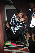 8 May 2010- New York, NY- Queen Latifah performs at the Just Right Night with Common Produced by Jill Newman Productions and held at Highline Ballroom on May 8, 2010 in New York City.