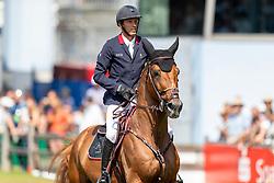 STAUT Kevin (FRA), Silver Deux de Virton HDC<br /> Aachen - CHIO 2018<br /> Rolex Grand Prix 1. Umlauf<br /> Der Grosse Preis von Aachen<br /> 22. Juli 2018<br /> © www.sportfotos-lafrentz.de/Stefan Lafrentz