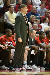11 February 2006:  ..Coach Porter Moser...Illinois State Redbirds fall to the Bradley Braves at home in Redbird Arena in Normal Illinois.