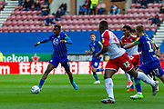 Wigan Jamal Lowe during the EFL Sky Bet Championship match between Wigan Athletic and Barnsley at the DW Stadium, Wigan, England on 31 August 2019.