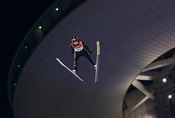16.02.2018, Alpensia Ski Jumping Centre, Pyeongchang, KOR, PyeongChang 2018, Skisprung, Herren, Großschanze, im Bild Andreas Wellinger (GER) // Andreas Wellinger of Germany during the men's large hill individual skijumping of the Pyeongchang 2018 Winter Olympic Games at the Alpensia Ski Jumping Centre in Pyeongchang, South Korea on 2018/02/16. EXPA Pictures © 2018, PhotoCredit: EXPA/ Johann Groder