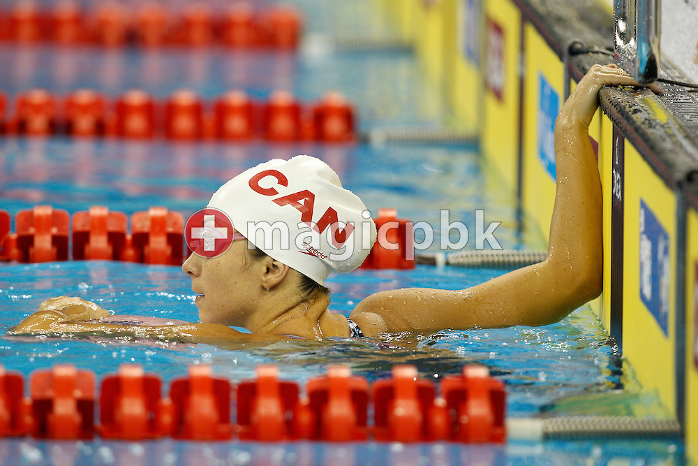 Audrey LACROIX of Canada is pictured during a training session during the 14th FINA World Aquatics Championships at the Oriental Sports Center in Shanghai, China, Tuesday, July 26, 2011. (Photo by Patrick B. Kraemer / MAGICPBK)