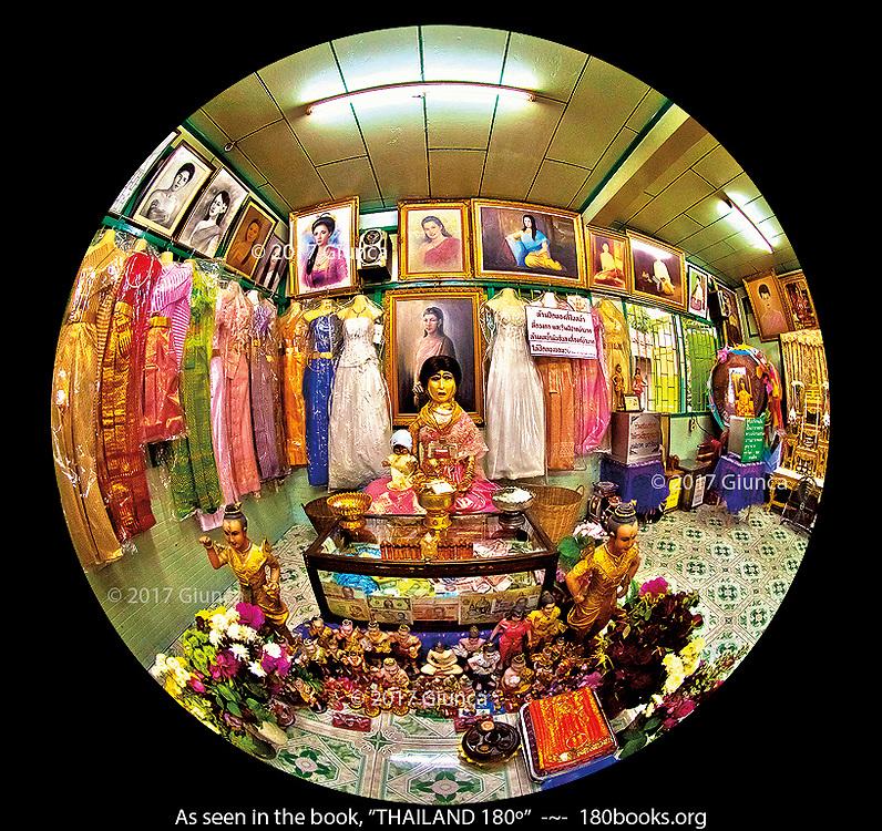 Mae Naak Phra Khanong Shrine, Wat Mahbut in Bangkok, Thailand