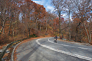 The drive at The North Woods of Central Park, New York City.