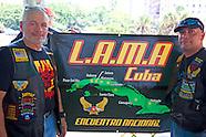 LAMA, Latin American Motorcycle Association in Havana Vedado, Cuba.