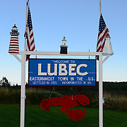 Lubec and Research Station Scenes