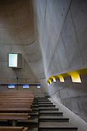 Church of Saint-Pierre, Firminy-Vert France, architect Le Corbusier and  José Oubrerie.