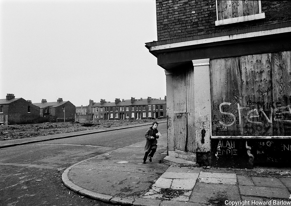 Salford fish &amp; chip run - 1980<br />