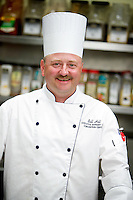 Bill Hill began washing dishes at The Coeur d'Alene Resort 24 years and worked his way through the ranks to executive banquet chef for the Resort's convention center.