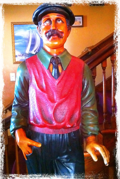 Bagger Vance statue cellphone photography,Iphone pictures,smartphone pictures