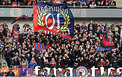 Crystal Palace fans - Mandatory by-line: Robbie Stephenson/JMP - 24/04/2016 - FOOTBALL - Wembley Stadium - London, England - Crystal Palace v Watford - The Emirates FA Cup Semi-Final