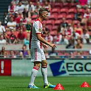 Amsterdam, 25-07-2013. Zo'n 20.000 fans waren naar de Amsterdam Arena gekomen voor de Open dag van Ajax. De spelers werden gepresenteerd  en trainden in de Arena. Foto: Toby Alderweireld.