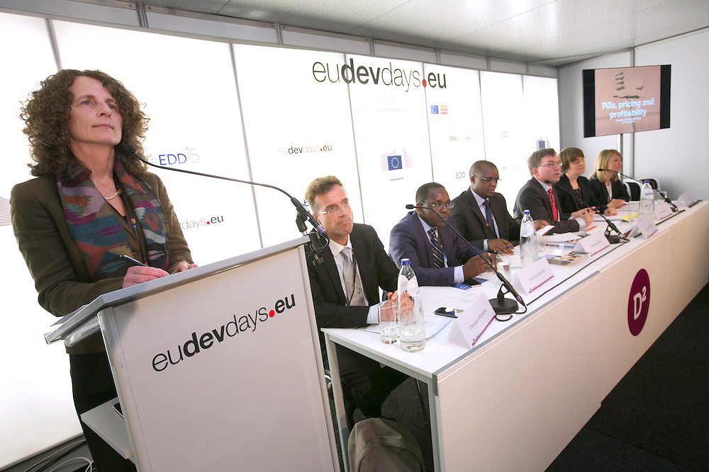 03 June 2015 - Belgium - Brussels - European Development Days - EDD - Health - Pills , pricing and profitability - Inge Baumgarten , Head of Health Section, Deutsche Gesellschaft fur Internationale Zusammenarbeit (GIZ) © European Union