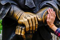 Chine, Hong Kong, Kowloon, temple bouddhiste Sik Sik Yuen // China, Hong Kong, Kowloon, Sik Sik Yuen Temple