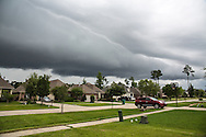 Storm clouds over Mandeville, Louisiana