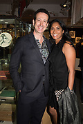 GAVIN ESSEX, LEANNE WILLIAMSONPreview evening  in support of The Eve Appeal, a charity dedicated to protecting women from gynaecological cancers. Bonhams Knightsbridge, Montpelier St. London. 29 April 2019