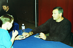 31 January 2001 - Cubs Caravan.  Illinois State University Student Union. Normal Il<br /> Jeff Fassero<br /> Archive slide, negative and print scans.