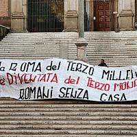 Manifestazione del MSE per la casa