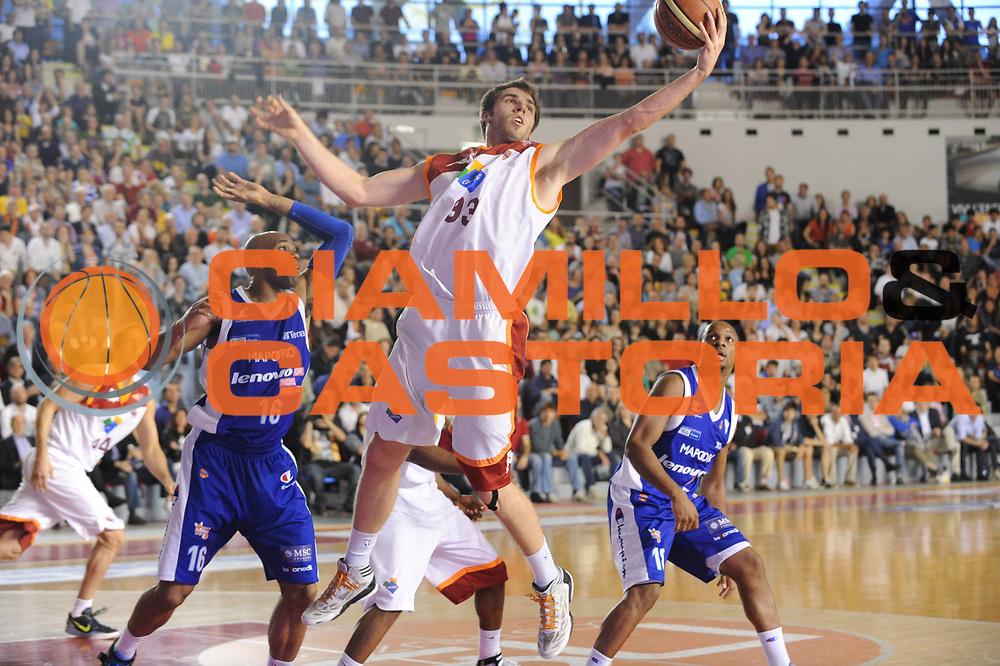 DESCRIZIONE : Roma Lega A 2012-2013 Acea Roma Lenovo Cantu playoff semifinale gara 5<br /> GIOCATORE : Oleksandr Czyz<br /> CATEGORIA : rimbalzo<br /> SQUADRA : Acea Roma Lenovo Cantu<br /> EVENTO : Campionato Lega A 2012-2013 playoff semifinale gara 5<br /> GARA : Acea Roma Lenovo Cantu<br /> DATA : 02/06/2013<br /> SPORT : Pallacanestro <br /> AUTORE : Agenzia Ciamillo-Castoria/M.Marchi<br /> Galleria : Lega Basket A 2012-2013  <br /> Fotonotizia : Roma Lega A 2012-2013 Acea Roma Lenovo Cantu playoff semifinale gara 5<br /> Predefinita :