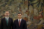 060218 Prime Minister Pedro Sanchez swearing-in ceremony