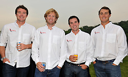 Phil Robertson and his Waka Racing crew at the opening dinner. Photo:Chris Davies/WMRT