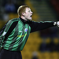 St Johnstone loan keeper Craig Samson<br /><br />Picture by Graeme Hart.<br />Copyright Perthshire Picture Agency<br />Tel: 01738 623350  Mobile: 07990 594431