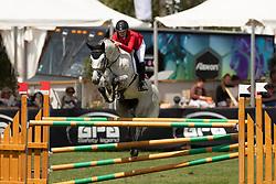 Vonwyl Laura, SUI, Cora xx<br /> European Championship Children, Juniors, Young Riders - Fontainebleau 1028<br /> © Hippo Foto - Dirk Caremans<br /> Vonwyl Laura, SUI, Cora xx