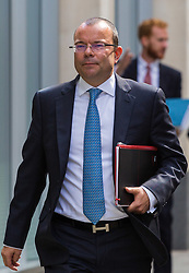 High Court, Rolls Building, London, July 6th 2017 Financial advisor Jeffrey Blue arrives at the High Court where he is suing Sports Direct CEO and Newcastle United Chairman relating to an alleged conversation they had in a pub.