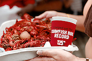 The Zatarain's World's Largest Crawfish Boil at Champion Square in New Orleans, LA.