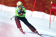"""Schladming, Austria - 2017 March 21: Marc Vilarrubla Riba from Andorra (5) competes in Alpine Skiing Competition while Special Olympics World Winter Games Austria 2017 on the """"Sepp-Walcher-Downhill"""" (Slope 32) near the """"Tauernalm"""" in Rohrmoos on March 21, 2017 in Schladming, Austria.<br /> <br /> Mandatory credit:<br /> Photo by © Adam Nurkiewicz / Mediasport<br /> <br /> Adam Nurkiewicz declares that he has no rights to the image of people at the photographs of his authorship.<br /> <br /> Picture also available in RAW (NEF) or TIFF format on special request.<br /> <br /> Any editorial, commercial or promotional use requires written permission from the author of image.<br /> <br /> Image can be used in the press when the method of use and the signature does not hurt people on the picture."""