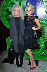 "Lydia Bright and mother Debbie Douglas Attends the Shrek ""Children in need"" Performance, Theatre Royal, Drury Lane, Covent Garden, London, UK, November 14, 2012. Photo by Chris Joseph / i-Images."