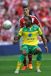 Cameron Jerome Norwich, Middlesbrough v Norwich, Sky Bet Championship, Play Off Final, Wembley Stadium, Monday  25th May 2015