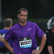 Vítezslav Vesely, Czech Republic, in action in the Men's Javelin competition during the Diamond League Adidas Grand Prix at Icahn Stadium, Randall's Island, Manhattan, New York, USA. 13th June 2015. Photo Tim Clayton