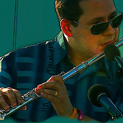 Carlos Jimenez & the Latin Jazz Band kicks off the first performance of 2010  Jazz & Blues on the Hudson Summer Series at the Yonkers Waterfront.