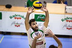 Drvarič Urban during volleyball match between Panvita Pomgrad and Šoštanj Topolšica of 1. DOL Slovenian National Championship 2019/20, on December 14, 2019 in Osnovna šola I, Murska Sobota, Slovenia. Photo by Blaž Weindorfer / Sportida