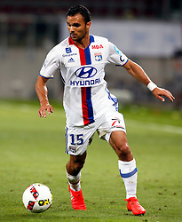 06.08.2016, Woerthersee Stadion, Klagenfurt, AUT, Trophee des Champions, Paris St. Germain vs Olympique Lyon, im Bild Jeremy Morel (Olympique Lyon). // during the French Supercup Match between Paris St. Germain and Olympique Lyon at the Woerthersee Stadion in Klagenfurt, Austria on 2016/08/06. EXPA Pictures © 2016, PhotoCredit: EXPA/ Wolfgang Jannach