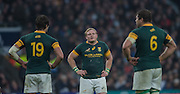 Twickenham, United Kingdom.  Springboks Captain, Adriaan STRAUSS,  Old Mutual Wealth Series: England vs South Africa, at the RFU Stadium, Twickenham, England, Saturday, 12.11.2016<br /> <br /> [Mandatory Credit; Peter Spurrier/Intersport-images]