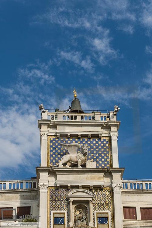 Torre dell Orologio, Piazza San Marco, Venice, Venetia, Italy