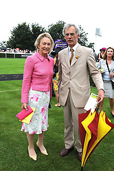 GILLIAN, LADY HOWARD DE WALDEN and ROD FABRICIUS at the 3rd day of the 2008 Glorious Goodwood racing festival at Goodwood Racecourse, West Sussex on 31st July 2008.<br /> <br /> NON EXCLUSIVE - WORLD RIGHTS