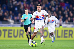 April 1, 2018 - Lyon, France - 11 MEMPHIS DEPAY  (Credit Image: © Panoramic via ZUMA Press)